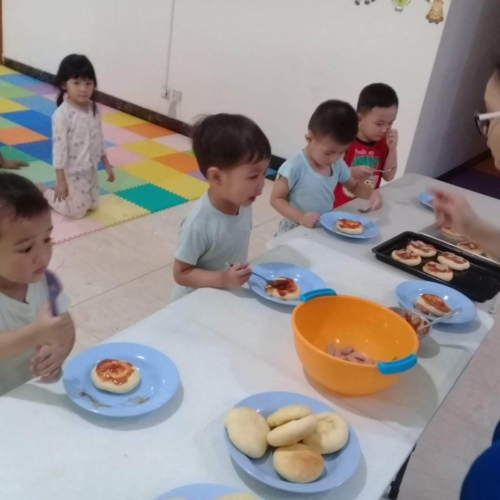 Cooking Class Pizza at Trust DayCare November 2018 (21)