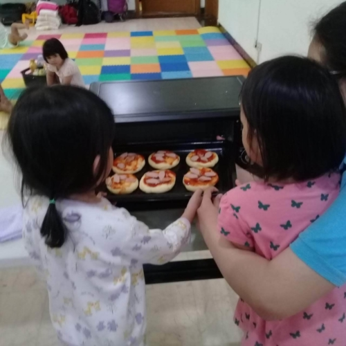 Cooking Class Pizza at Trust DayCare November 2018 (4)