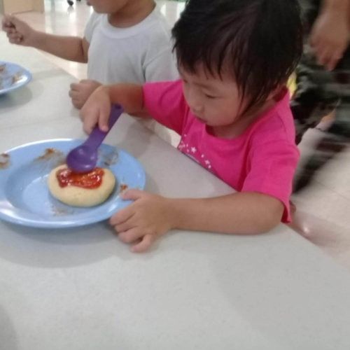 Cooking Class Pizza at Trust DayCare November 2018 (53)