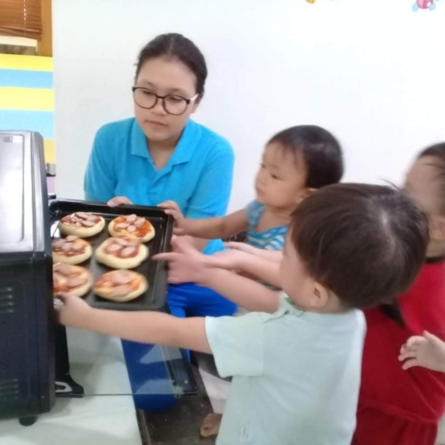 Cooking Class Pizza at Trust DayCare November 2018 (6)