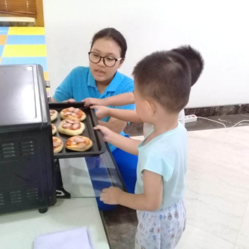 Cooking Class Pizza at Trust DayCare November 2018 (8)